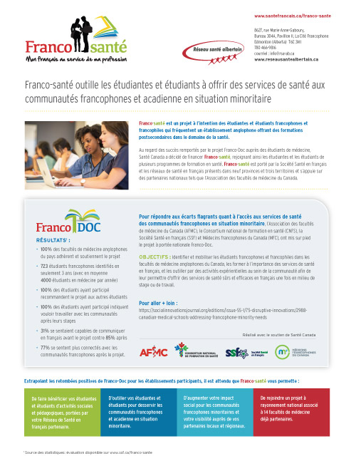 Fiche d'information Franco-santé